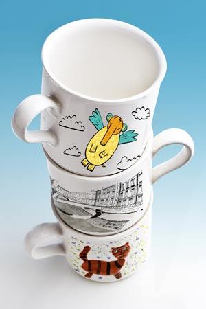 Кофейные чашки, чайные кружки