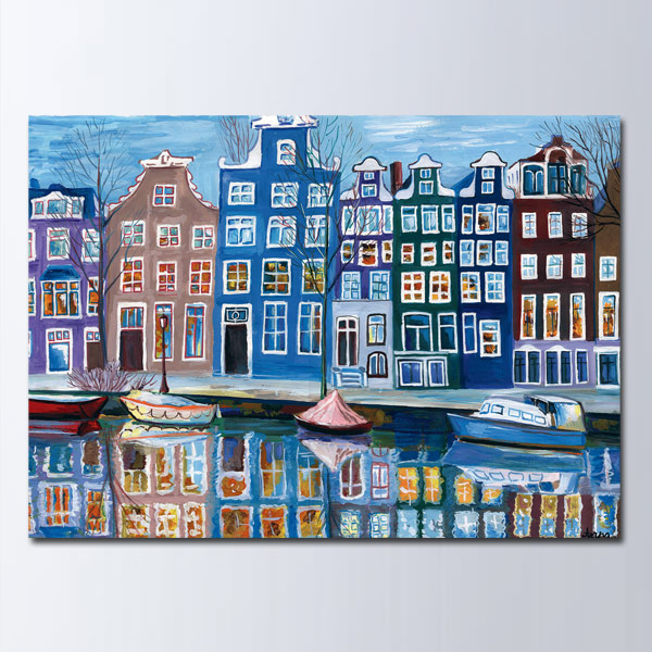 Открытка Амстердам