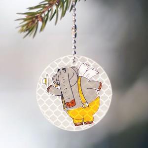 Светоотражатель-Летающий-слон
