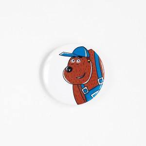 """Значок """"Медведь Тед"""" из мультсериала """"Летающие звери"""""""