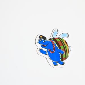 магнит виниловый Черепаха Че из мультсериала Летающие звери