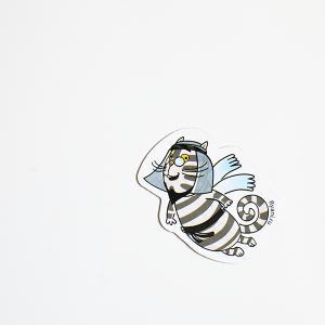 магнит виниловый Кот Мустафа из мультсериала Летающие звери