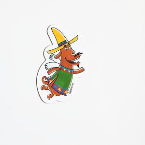 магнит виниловый Пес Хосе из мультсериала Летающие звери