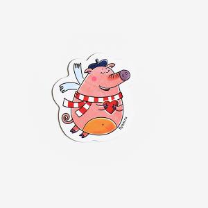 магнит виниловый Свинка Софи